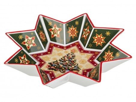 "Салатник ""christmas collection"" диаметр=32 см. высота=6 см. Lefard (586-006)"