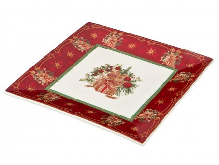 "Блюдо ""christmas collection"" 22*22 см (кор=8шт.) Lefard (586-288)"
