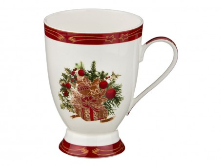 "Кружка ""christmas collection"" 300 мл (кор=36шт.) Lefard (586-296)"