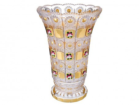 "Ваза ""lefard gold glass"" диаметр=17 см. высота=25 см. Lefard (195-125)"